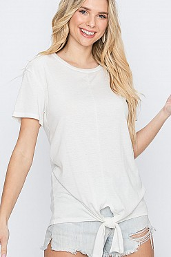 SIZE SHORT SLEEVE TOP
